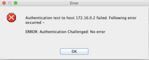 This message appears because ASDM cannot handle challenge-response.