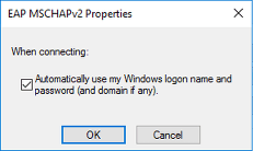 Check the Automatically use my Windows logon name and password (and domain if any)