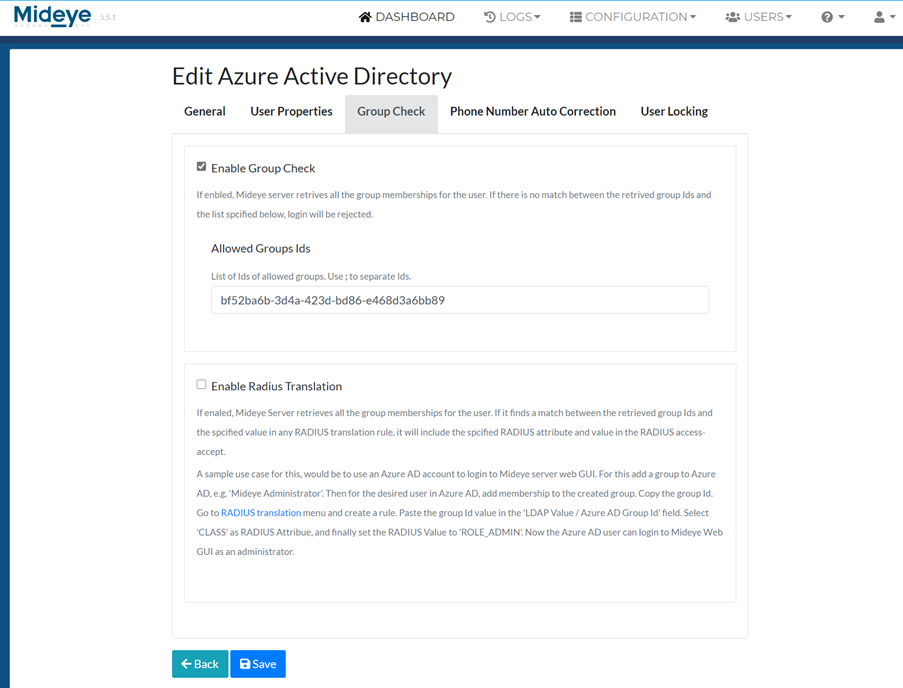 Add the group membership using the Object ID from Azure AD.